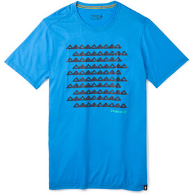 Smartwool Merino Sport 150 Sawtooth Range T-Shirt Herren ocean blue